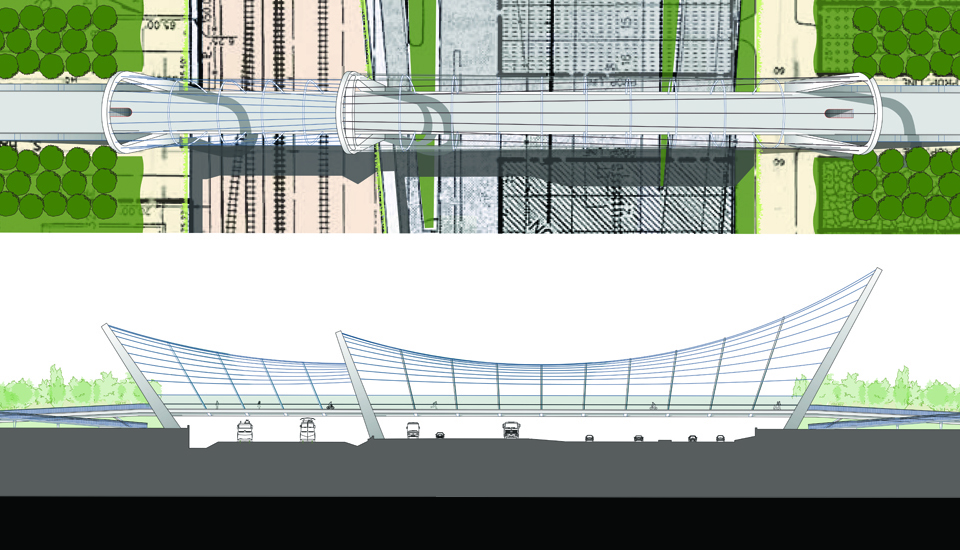 Shore to Core Pedestrian Bridge Competition