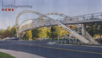 Pedestrian Bridge Project in San Francisco Region was No Easy Walk