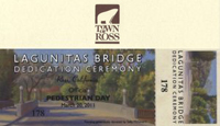 Lagunitas Bridge Dedication Ceremony