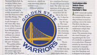 NBA Team Incorporates Bay Bridge into New Logo