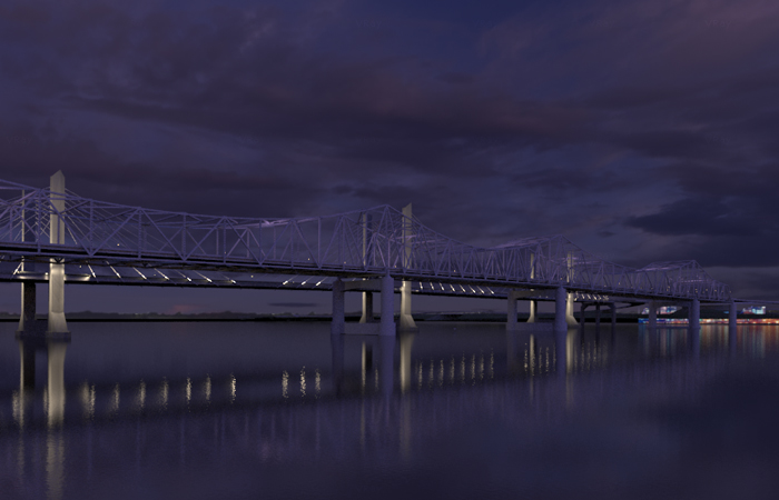 Ohio River Bridge, Downtown Crossing